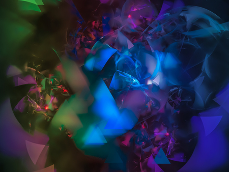 Abstract fractal color background, design Banque d'images