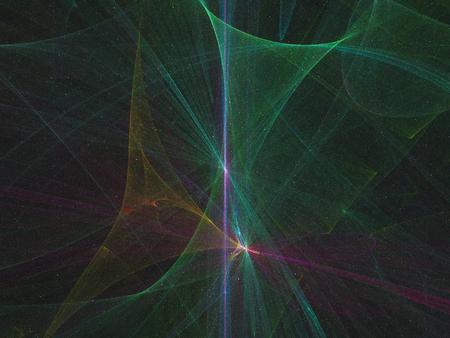 abstract digital fractal Stock Photo