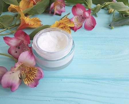 Alstroemeria Cosmetic Flower Cream