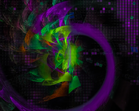 abstract beautiful fractal 스톡 콘텐츠