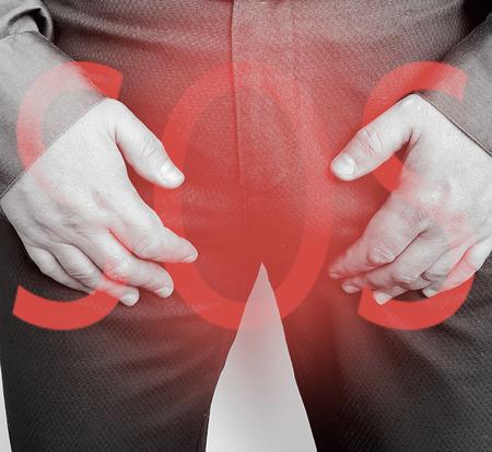 male symptom prostatitis Zdjęcie Seryjne - 115997383