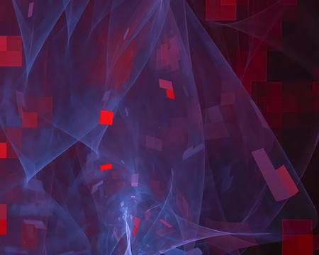 abstract digital fractal 写真素材
