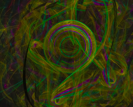 abstract digital fractal 스톡 콘텐츠