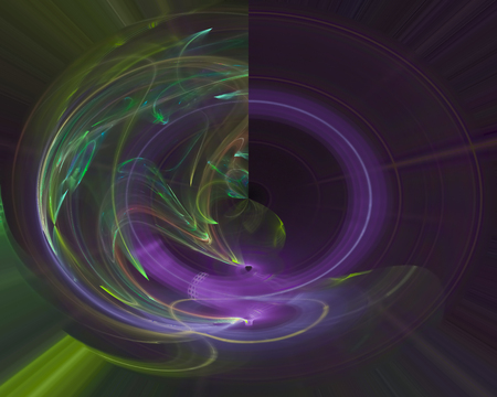 abstract digital fractal fantasy design motion bright