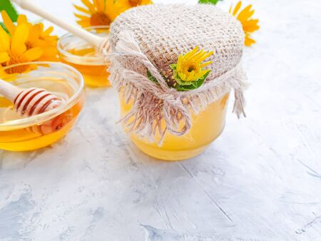 fresh honey flower calendula