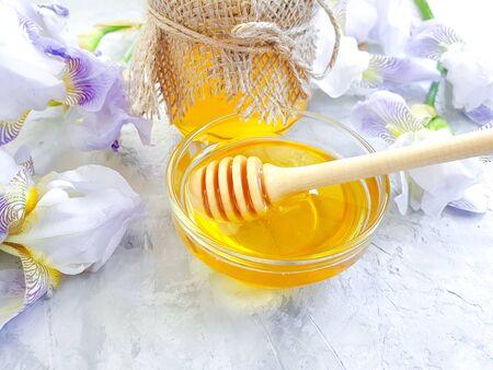 fresh honey iris flower