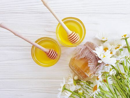 cosmetic cream, chamomile flower