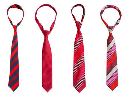 men's tie isolated on white background Imagens