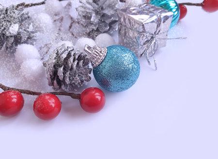 christmas tree toy, winter background celebration festive