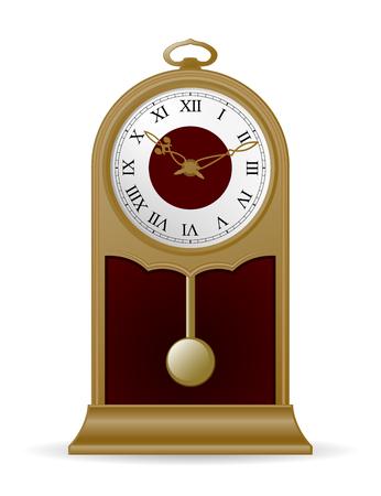 pendulum: Antique pendulum clock