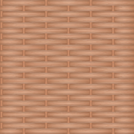 Wooden texture weaving. Vector background