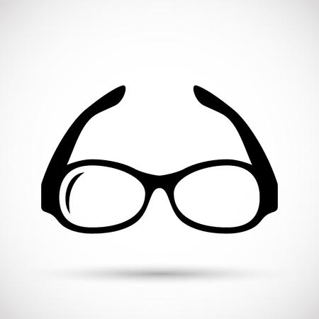 Vector glazen pictogram Stock Illustratie
