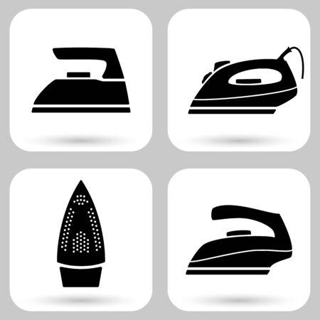 Iron icon set