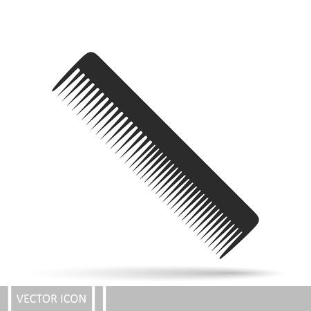 Comb vector icon Иллюстрация