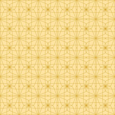 Abstract geometric background. Seamless floral pattern.
