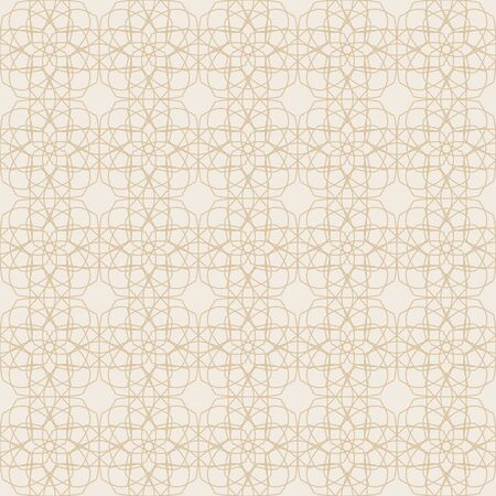 Geometric floral background. A seamless pattern in the Islamic style. Illustration