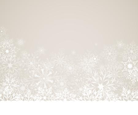 クリスマス雪の結晶の背景。グリーティング カードや招待状。メリー クリスマスと幸せな新年。デザインの要素です。