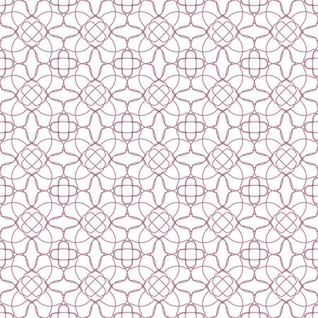 Abstract floral geometric pattern. Seamless beautiful pattern. Ilustrace