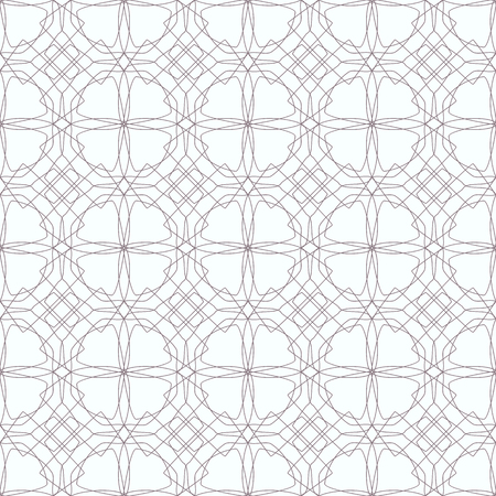 Seamless abstract floral patterns. Geometrical flower ornament. Beautiful vector background. Illustration