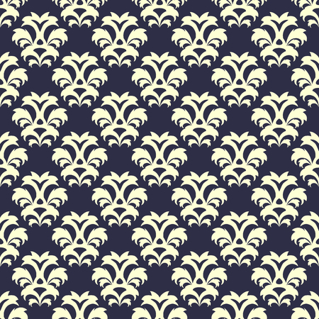 Vector seamless floral pattern in vintage style