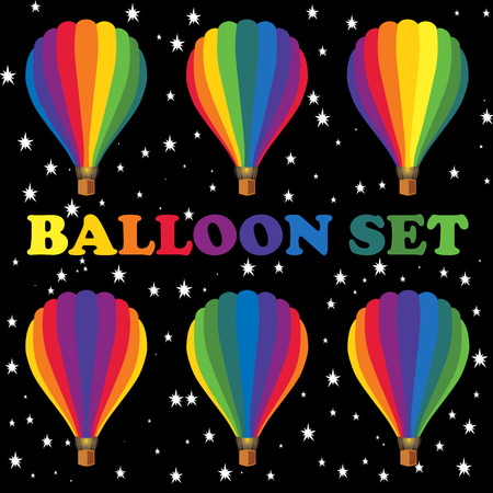 publications: Balloons for design publications devoted to aeronautics and air fiesta.