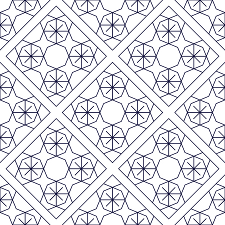progressive art: Seamless pattern with geometric shapes in art deco style. Suitable for wall design, fabrics, packaging.