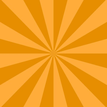 variance: Radial background with radiating rays of orange. Background in warm colors with orange, brown, sun shade.