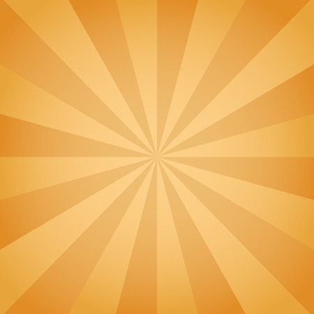 the sun and shade: Radial background with radiating rays of orange. Background in warm colors with orange, brown, sun shade.