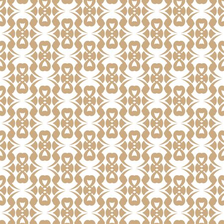 nuvo: Seamless color pattern with abstract geometric design. Retro Wallpaper. Vintage seamless pattern. White and gold ornament.