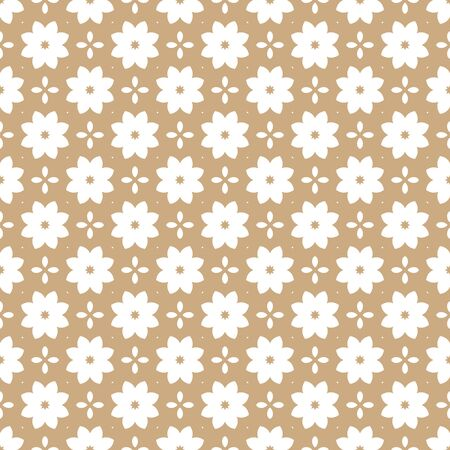 eclectic: Seamless color pattern with abstract geometric design. Retro Wallpaper. Vintage seamless pattern. White and gold ornament.