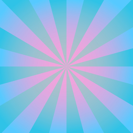 variance: Radial background with radiating rays in blue and pink tones.