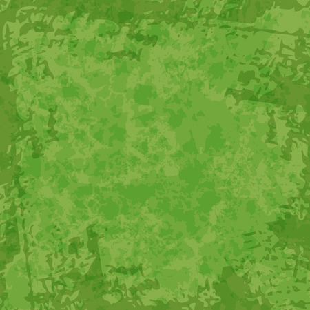 Trendy green grunge background. Greenery color with shabby effect.