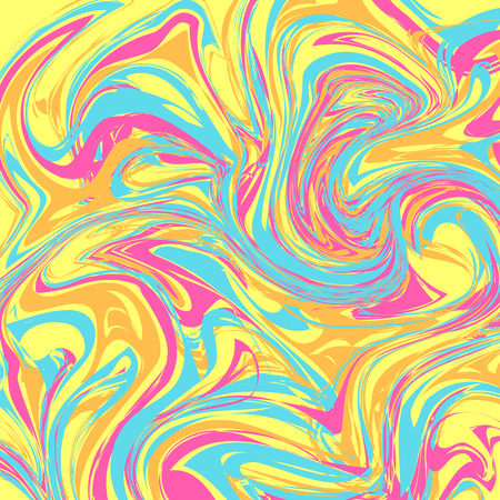 Caramel glaze imitation. Multicolored abstract dynamic background. Patterns for edible icing sheets for covering cakes.