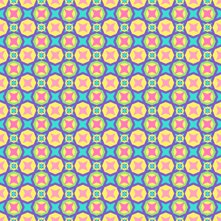 Seamless colorful multicolored pattern from round elements. Patterns for edible icing sheets for covering cakes. Abstract background.