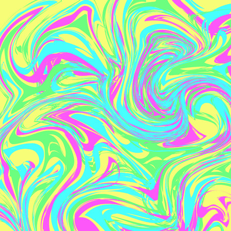 Seamless abstract background in tie-dye style. Patterns for edible icing sheets for covering cakes. Ilustração