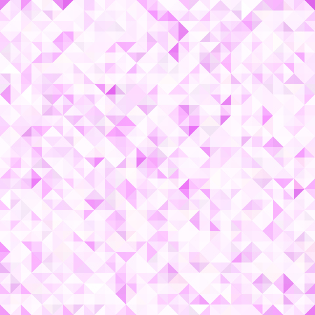 sequential: A seamless light pink pattern of small triangles. Background for the design of the surface. Abstract geometric wallpaper. Illustration