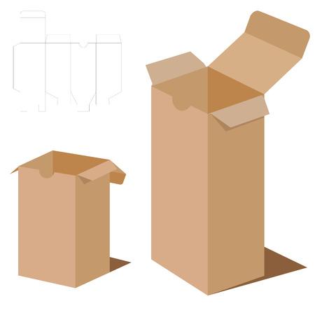 brown box: Box Packaging Design. Brown box packaging.