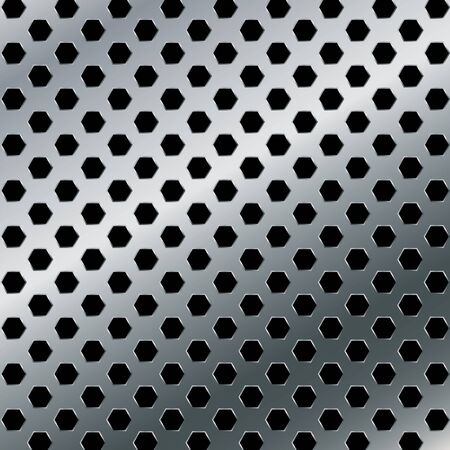 aluminium background: Aluminium background. Vector metal abstract background.