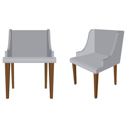 Gray chairs icon.