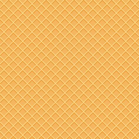 Wafer-Muster in der Draufsicht. Schönes Waffelmuster.