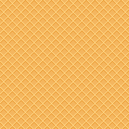 Wafer pattern in top view. Beautiful wafer pattern.