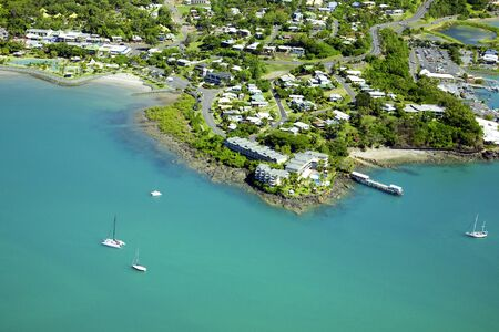 airlie: Airlie Beach Queensland  Stock Photo