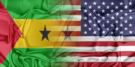 principe: Las relaciones entre los dos países. EE.UU. y Santo Tomé Príncipe. Foto de archivo