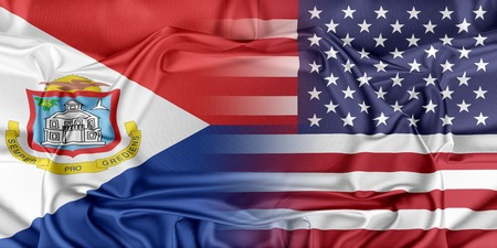 sint: Relations between countries. USA and Sint Maarten