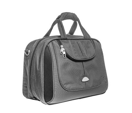 Moderne tas voor op reis. Isoleer op witte achtergrond.