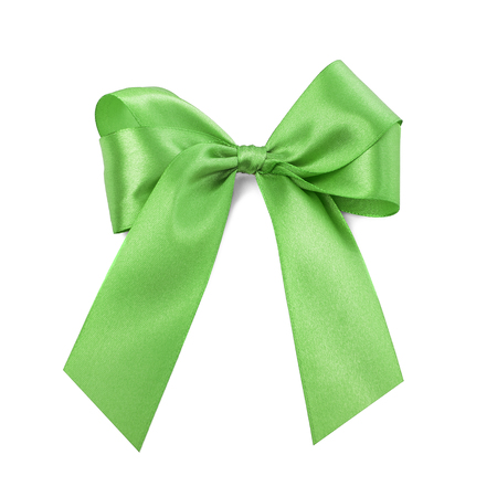 Beautiful green bow.