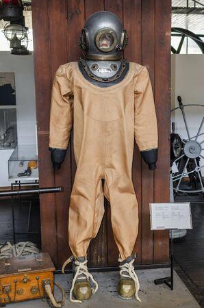 Vintage suit of a diver.