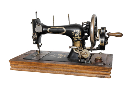 Old Sewing Machine Stock Photo Picture And Royalty Free Image Adorable Old Sewing Machine