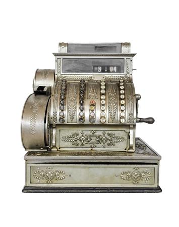 Vintage typewriter close-up. Stock Photo
