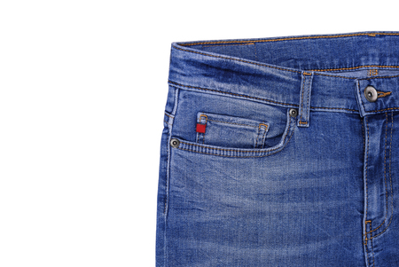 Jeans. The upper part of which illustrates the pocket.